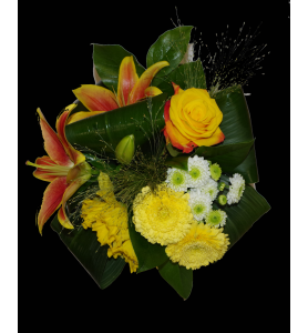Bouquet Lys Jonquille