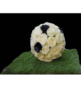 Ballon en fleurs