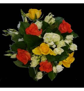 Bouquet  jaune orangé