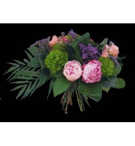 Bouquet Hortensia Pivoine
