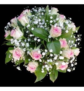 Bouquet gypsophiles et...