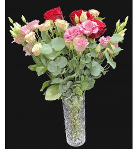 Bouquet rose rouge