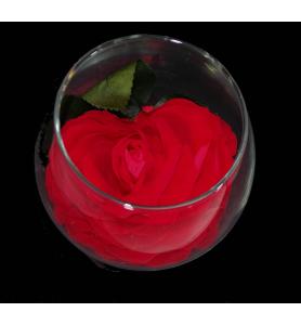 Rose rouge  stabilisé